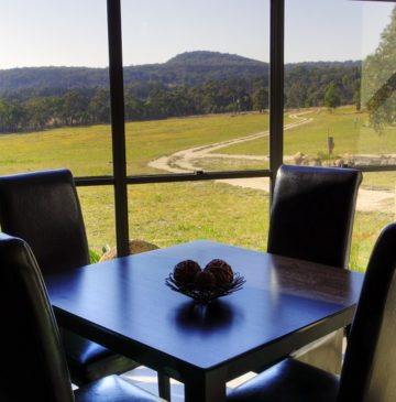 View from Alure Stanthorpe Dining Table