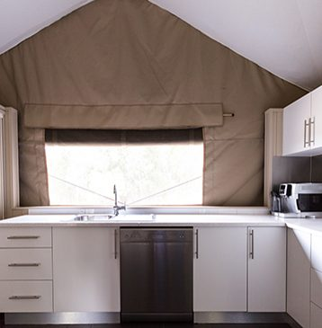 Alure Stanthorpe Tent Kitchen
