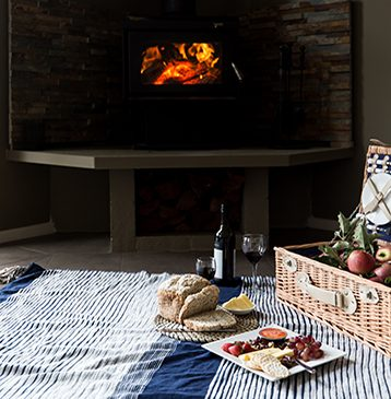 Indoor picnic at Alure Stanthorpe
